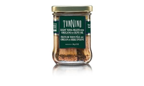 Tuna With Oregano In Oil