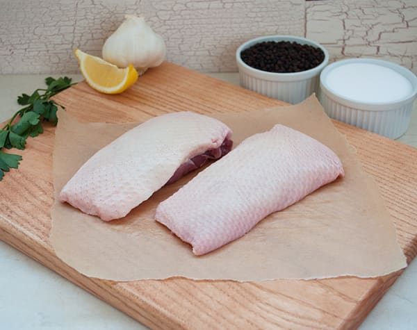 Natural Duck Breasts - 2 Breasts (Frozen)