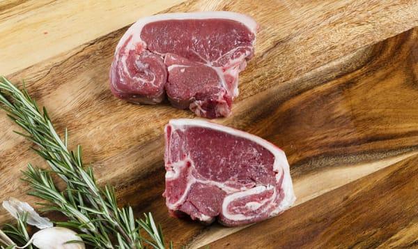 Boneless Lamb Chops (Frozen)