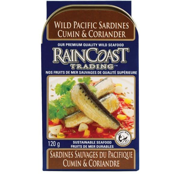 Wild Pacific Sardines with Cumin & Coriander