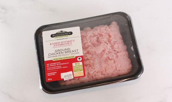 Ground Chicken Breast - Raised Without Antibiotics, Fresh