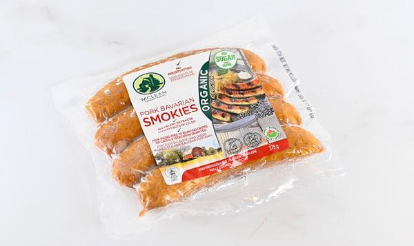 Organic Pork Bavarian Smokie