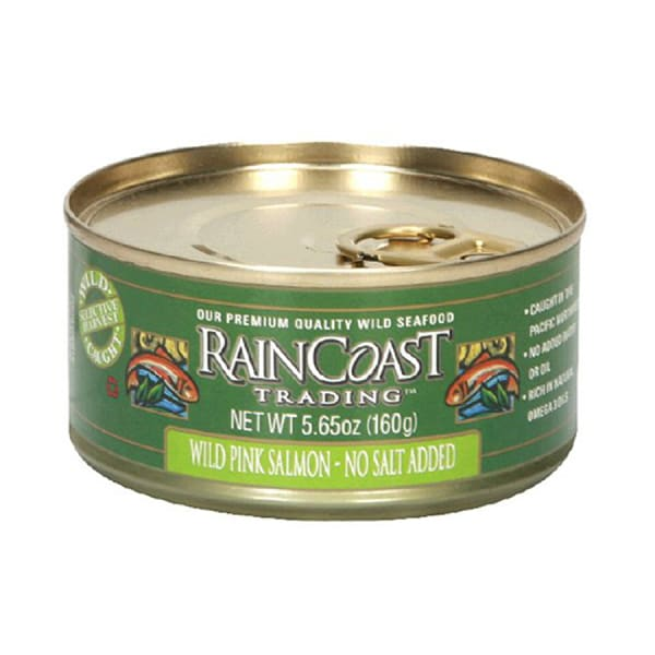 Canned Wild Pink Salmon (No Salt Added)