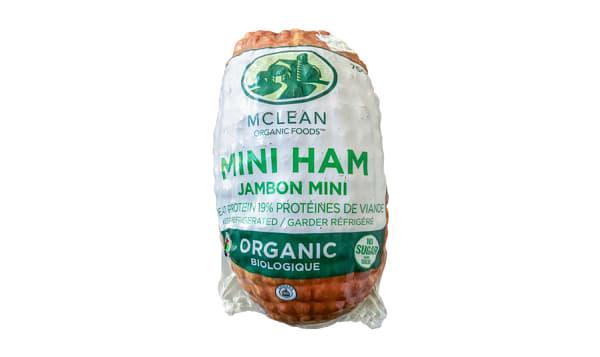 Organic Sugar Free Mini Ham