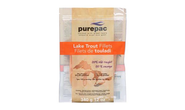 Lake Trout Fillets, Wild Caught (Frozen)