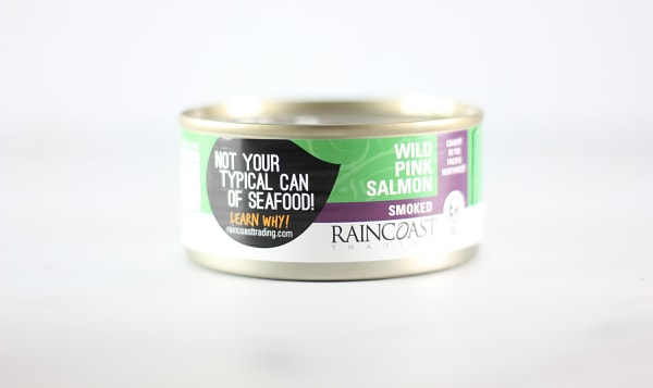 Canned Wild Smoked Pink Salmon