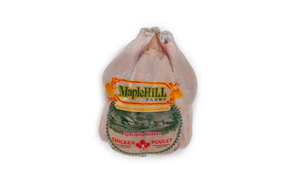 Maple Hill Unmedicated/Free Run Whole Chicken (Frozen)