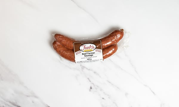 Beef Farmer Sausage