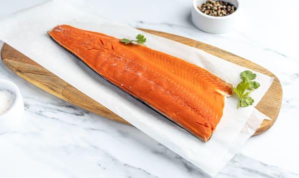Alaskan Sockeye Salmon Fillet (Frozen)