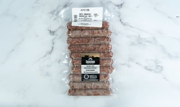 All Beef Maple Breakfast Sausage (Frozen)