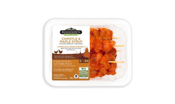 BLSL Breast Skewers CHIPOTLE & MAPLE SYRUP