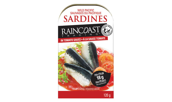 Ocean Wise Wild Pacific Sardines in Tomato Sauce