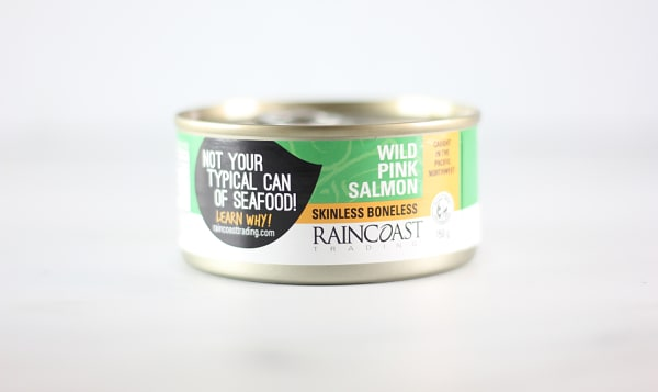 Canned Wild Pink Salmon (Boneless/Skinless)