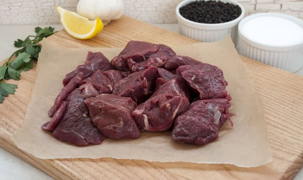 Grass Fed/Grass Finished Beef Stew Meat (Frozen)
