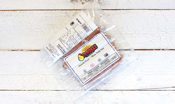 Organic Chicken Italian Sausage (Uncooked) (Frozen)