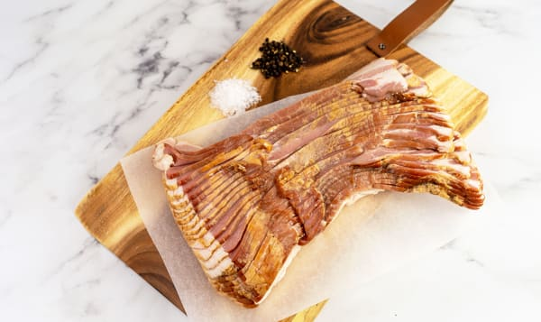 Traditional Wood Smoked Thick Cut Bacon
