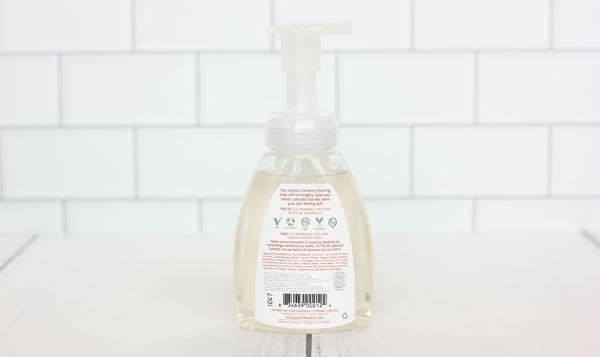 Organic Cranberry Hand Wash