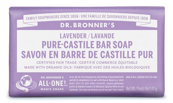 All-One Pure-Castile Bar Soap - Lavender