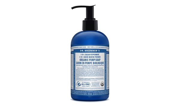 Organic Hand Sugar Soap - Peppermint