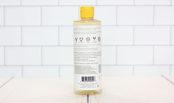 Unscented Sunflower Castile Liquid Soap