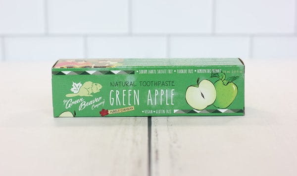 Organic Green Apple Toothpaste