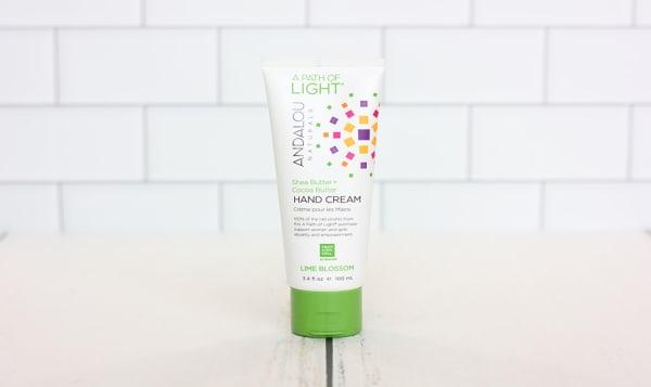 A Path of Light® Lime Blossom Hand Cream