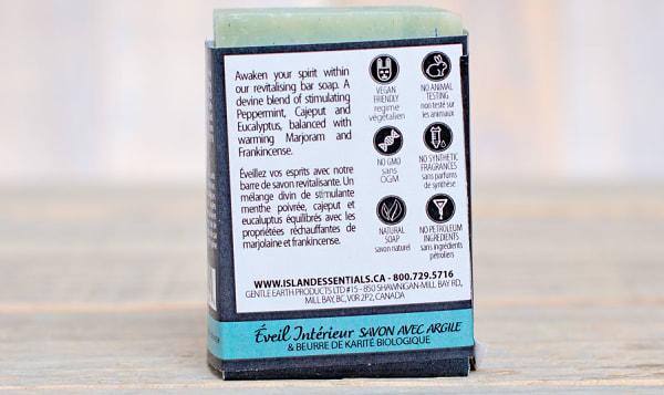 Awaken Within (Peppermint Eucalyptus Frankincense) Bar Soap