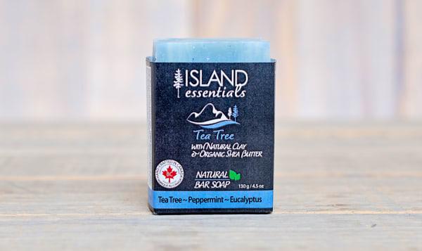 Tea Tree Mint (w Clay & Shea Butter) Bar Soap