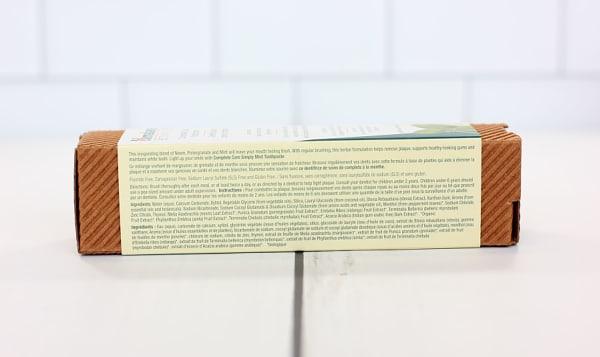 Organic Toothpaste Mint