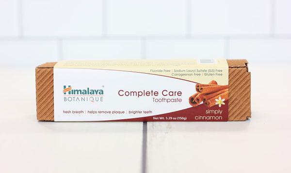 Organic Complete Care Toothpaste - Cinnamon
