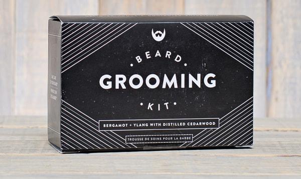 Beard Grooming Kit - Bergamot + Ylang with Distilled Cedarwood