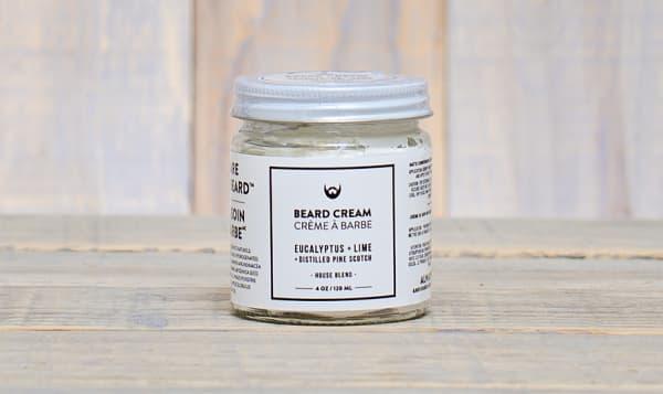 Beard Cream - Eucalyptus & Lime with Distilled Pine Scotch