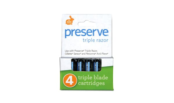 Triple Razor Replacement Blades