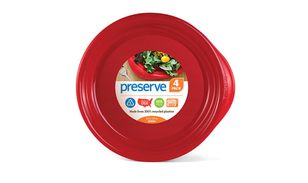 Everyday Plates - Pepper Red