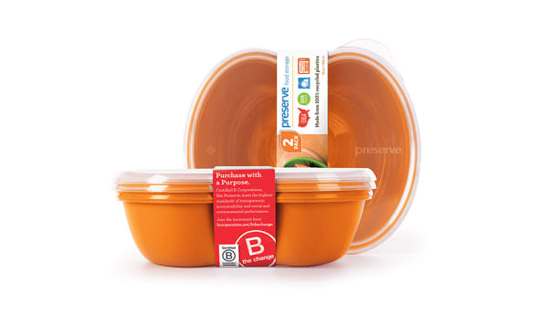 Sandwich Food Storage - Orange