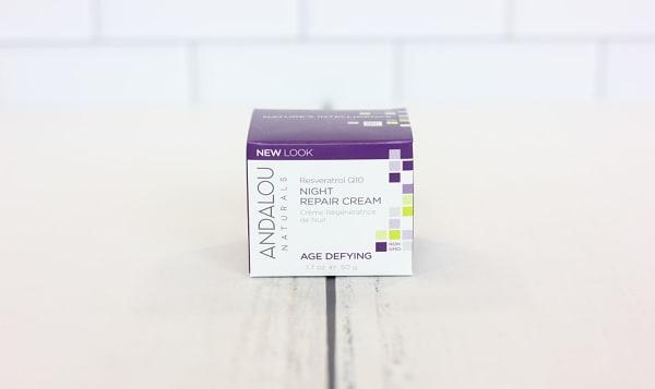 Resveratrol Q10 Night Repair Cream