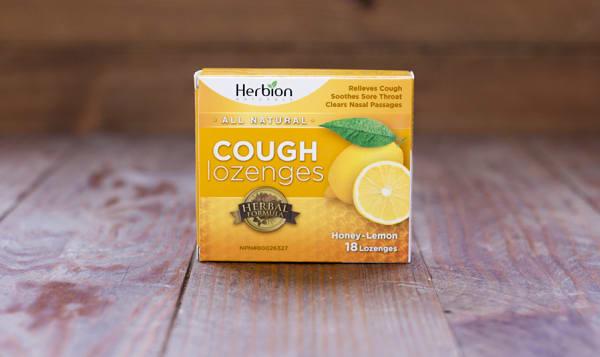 Honey Lemon Cough Lozenges 18pc
