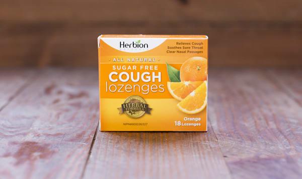 Orange Sugar Free Lozenges 18pc