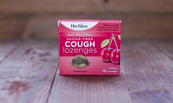 Cherry Sugar Free Lozenges 18pc