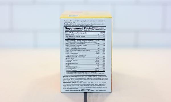 Peach Mango Vitamin & Mineral Supplement