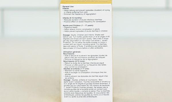 Shelf Stable Probiotic Drops