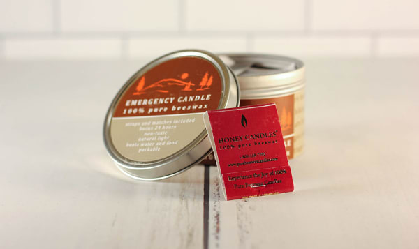 Organic Emergency Candle