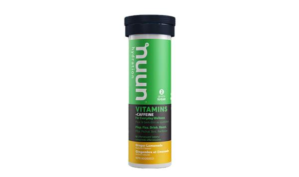 Vitamins + Caffeine - Ginger Lemonade Tablets