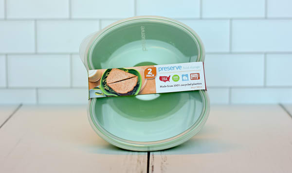 Sandwich Container - Green Apple