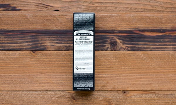 Organic All-One Toothpaste - Anise