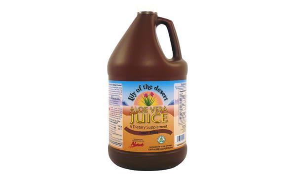 Organic Inner Fillet Aloe Vera Juice, Preservative Free