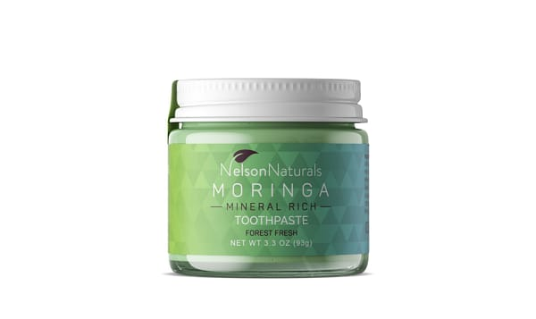 Mineral Rich Toothpaste - Moringa