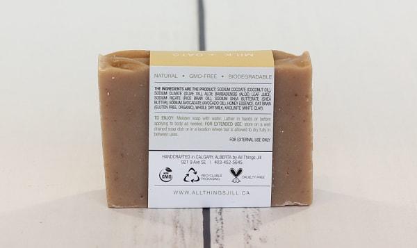 Bar Soap - Oat & Honey Scrub