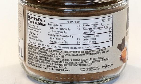 Organic Chocolate Turmeric Golden Mylk