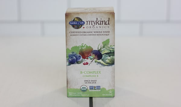 Organic Vitamin B-Complex Once Daily